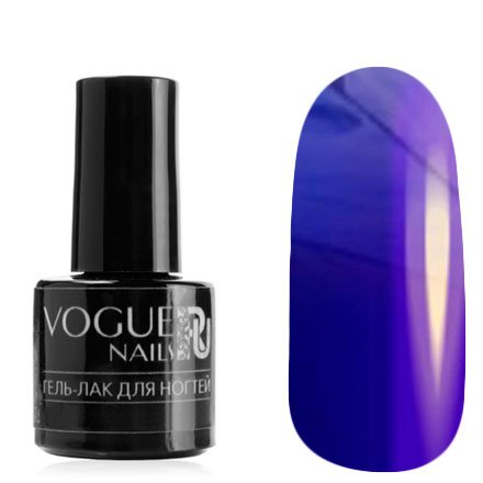 Vogue Nails, Гель-лак витражный - Сине-лиловый №722 (6 мл.)Vogue Nails<br>Гель-лак, сине-лиловый, без блесток и перламутра, полупрозрачный<br>