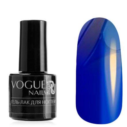 Vogue Nails, Гель-лак витражный - Синий №723 (6 мл.)Vogue Nails<br>Гель-лак, синий, без блесток и перламутра, полупрозрачный<br>