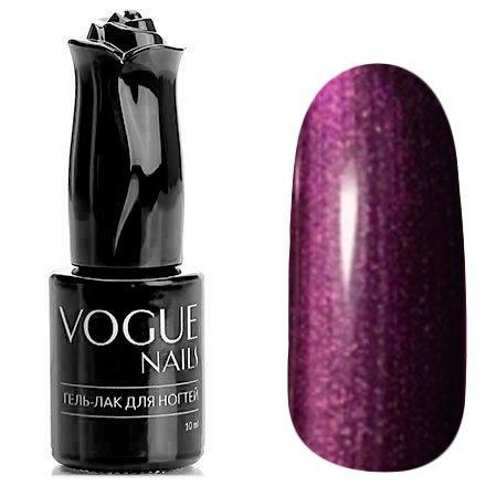 Vogue Nails, Гель-лак - Мерцающий закат №732 (10 мл.)Vogue Nails<br>Гель-лак,темно-бордовый с фиолетовым подтоном, перламутровый, плотный<br>