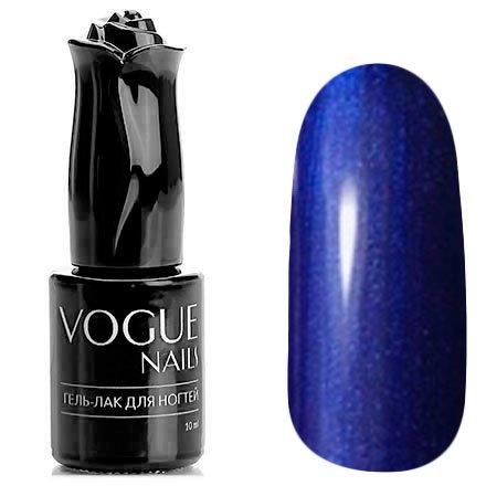 Vogue Nails, Гель-лак - Жемчужный синий №736 (10 мл.)Vogue Nails<br>Гель-лак, темно-синийс перламутром, плотный<br>