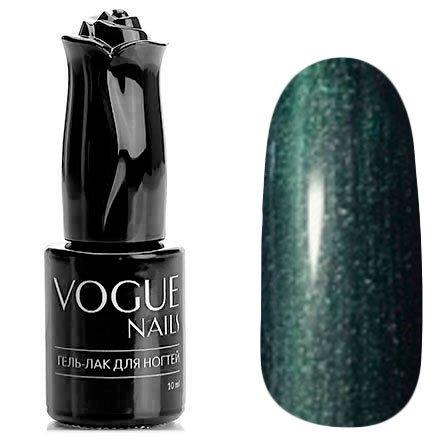 Vogue Nails, Гель-лак - Морская пена №737 (10 мл.)Vogue Nails<br>Гель-лак, темно-изумрудныйс перламутром, плотный<br>