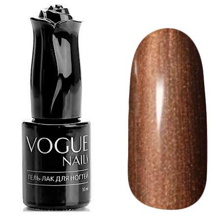 Vogue Nails, Гель-лак - Коричневый сахар №738 (10 мл.)Vogue Nails<br>Гель-лак, бронзовыйс перламутром, плотный<br>
