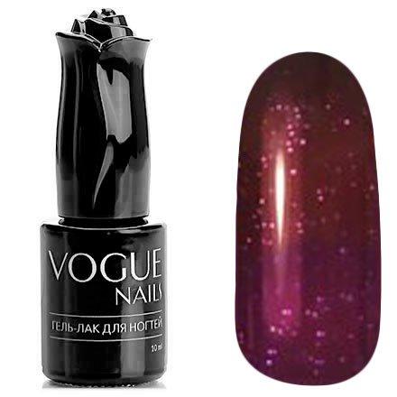 Vogue Nails, Гель-лак термо - Волшебная палочка №740 (10 мл.)Vogue Nails<br>Термо гель-лак, сливовый/фиолетовый, с блестками, плотный<br>