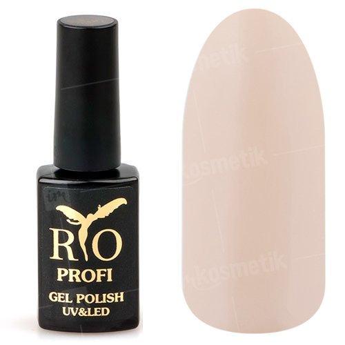 Rio Profi, Гель-лак каучуковый - Французский Марципан №150 (7 мл.)Rio Profi<br>Гель-лак каучуковый, цвета марципан, плотный, глянцевый<br>