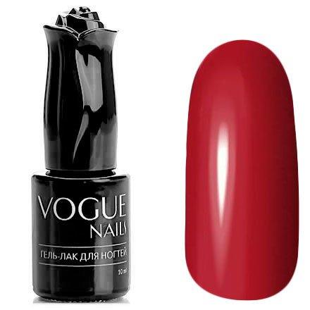 Vogue Nails, Гель-лак - Шардоне №813 (10 мл.)Vogue Nails<br>Гель-лак,малиново-красный, без блесток и перламутра, плотный<br>
