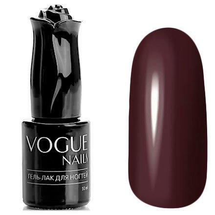 Vogue Nails, Гель-лак - Сотерн №819 (10 мл.)Vogue Nails<br>Гель-лак,бордовый, без блесток и перламутра, плотный<br>