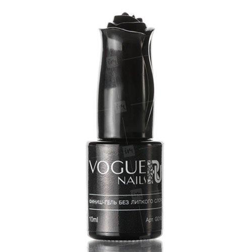 Vogue Nails, Финиш-гель без липкого слоя G010 (10 гр.)Гели Vogue Nails<br>Защитный топ-гель. Завершающее покрытие в системе гелевого наращивания ногтей.<br>