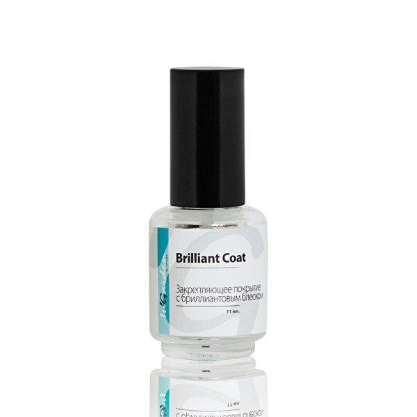 InGarden So Naturally, Brilliant Coat Закрепляющее покрытие с бриллиантовым блеском, 11мл (InGarden (США))