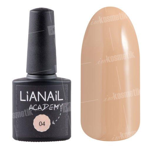 Lianail, Гель-лак Academy - Желтовато-серый №04 (10 мл.)Lianail<br>Гель-лак желтовато-серый оттенок, плотный<br>