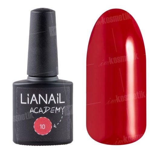 Lianail, Гель-лак Academy - Коричнево-малиновый №10 (10 мл.)Lianail<br>Гель-лаккоричнево-малиновый оттенок, плотный<br>