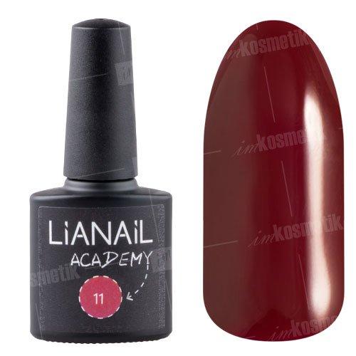Lianail, Гель-лак Academy - Красновато-коричневый №11 (10 мл.)Lianail<br>Гель-лаккрасновато-коричневый оттенок, плотный<br>