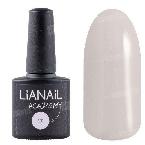 Lianail, Гель-лак Academy - Розовато-лавандовый №17 (10 мл.)Lianail<br>Гель-лак розовато-лавандовый, плотный<br>