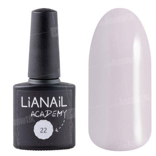Lianail, Гель-лак Academy - Светло-розовый кварц №22 (10 мл.)Lianail<br>Гель-лак светло-розовый кварц, плотный<br>