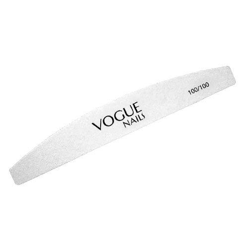 Vogue Nails, Пилка профессиональная, лодочка 100х100Пилки для искусственных ногтей<br>Профессиональная пилка для искусственных ногтей<br>