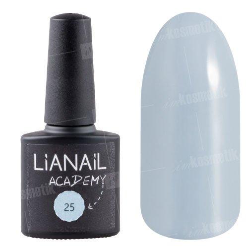 Lianail, Гель-лак Academy - Ламантин №25 (10 мл.)Lianail<br>Гель-лак светло-серый, плотный<br>