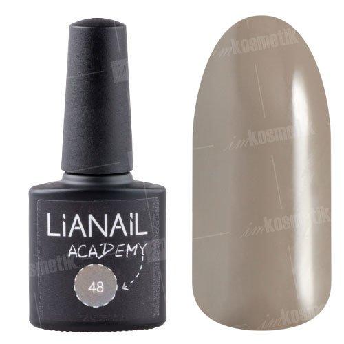 Lianail, Гель-лак Academy - Коричневато-серый №48 (10 мл.)Lianail<br>Гель-лак коричневато-серый,плотный<br>