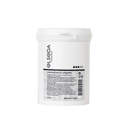 Elseda, Сахарная паста для шугаринга - средняя (350г.)