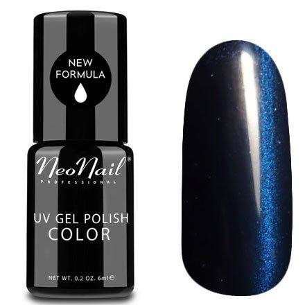 NeoNail, Гель-лак Кошачий глаз - №5030 (6 мл.)NeoNail<br>Гель-лак Кошачий глаз, синий с перламутром, плотный<br>