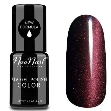 NeoNail, Гель-лак Кошачий глаз - №5032 (6 мл.)NeoNail<br>Гель-лак Кошачий глаз, винный с перламутром, плотный<br>
