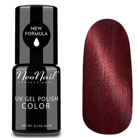 NeoNail, Гель-лак Кошачий глаз - №5103 (6 мл.)NeoNail<br>Гель-лак Кошачий глаз, вишневый с перламутром, плотный<br>
