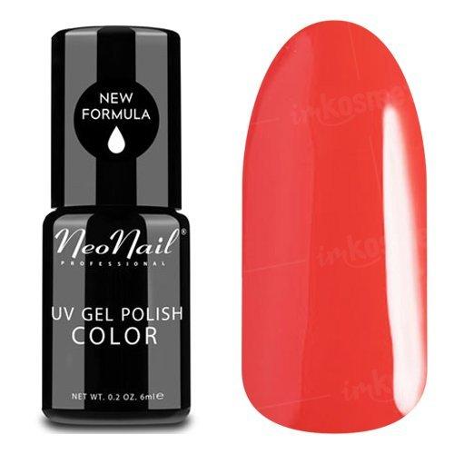 NeoNail, Гель-лак - Lady Ferrari №2609 (6 мл.)NeoNail<br>Гель-лак, красно-малиновый, глянцевый, без блесток и перламутра, плотный<br>