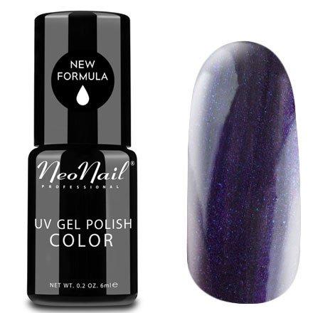 NeoNail, Гель-лак - Opal Storm №2611 (6 мл.)NeoNail<br>Гель-лак, фиолетово-синий, с блестками, плотный<br>