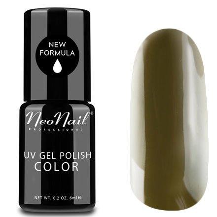 NeoNail, Гель-лак - Khaki №2612 (6 мл.)NeoNail<br>Гель-лак, цвета хаки, глянцевый, без блесток и перламутра, плотный<br>