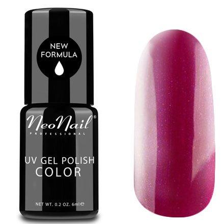 NeoNail, Гель-лак - Passionate Tango №2614 (6 мл.)NeoNail<br>Гель-лак, малиново-красный, с блестками, плотный<br>