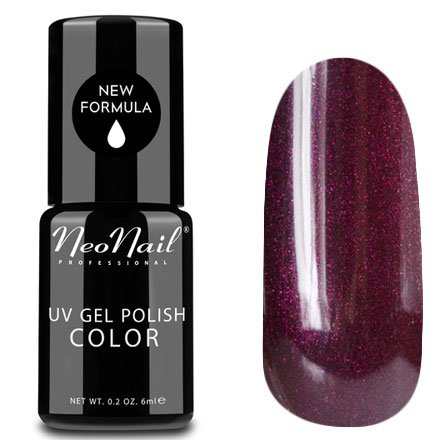 NeoNail, Гель-лак - Opal Wine №2615 (6 мл.)NeoNail<br>Гель-лак, винный, с блестками, плотный<br>