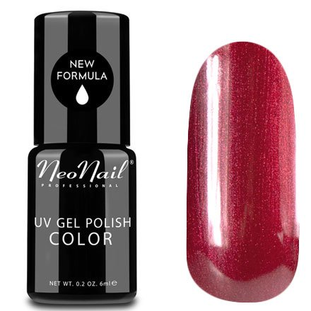 NeoNail, Гель-лак - Cherry Lady №2616 (6 мл.)NeoNail<br>Гель-лак, вишневый, с перламутром, плотный<br>