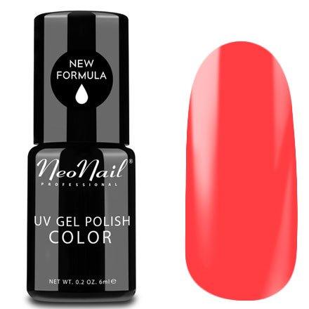 NeoNail, Гель-лак - Coral Red №2619 (6 мл.)NeoNail<br>Гель-лак, коралловый, глянцевый, без блесток и перламутра, плотный<br>