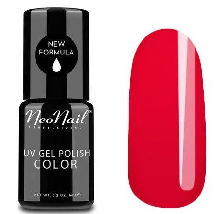 NeoNail, Гель-лак - Poppy Hill №2690 (6 мл.)NeoNail<br>Гель-лак, красный, глянцевый, без блесток и перламутра, плотный<br>