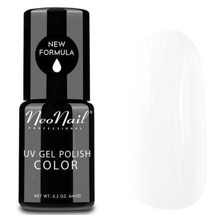 NeoNail, Гель-лак - Milk Shake №2696 (6 мл.)NeoNail<br>Гель-лак, молочно-белый, глянцевый, без блесток и перламутра, плотный, подойдет для французского маникюра<br>