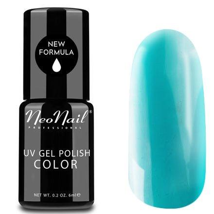 NeoNail, Гель-лак - Turquoise №2992 (6 мл.)NeoNail<br>Гель-лак, бирюзовый, глянцевый, без блесток и перламутра, плотный<br>
