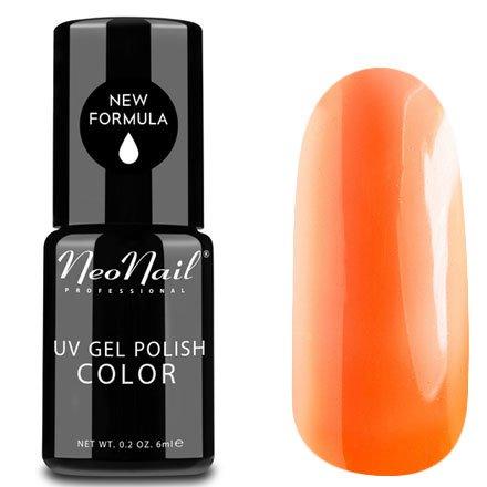 NeoNail, Гель-лак - Crazy Merengue №2993 (6 мл.)NeoNail<br>Гель-лак, яркий апельсин, глянцевый, без блесток и перламутра, плотный<br>