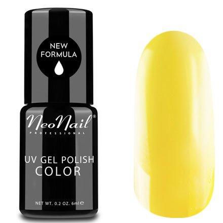 NeoNail, Гель-лак - Dark Yellow №2995 (6 мл.)NeoNail<br>Гель-лак, яркий лимон, глянцевый, без блесток и перламутра, плотный<br>