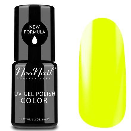 NeoNail, Гель-лак - Neon Yellow №3191 (6 мл.)NeoNail<br>Гель-лак, неоновый желтый, глянцевый, без блесток и перламутра, плотный<br>