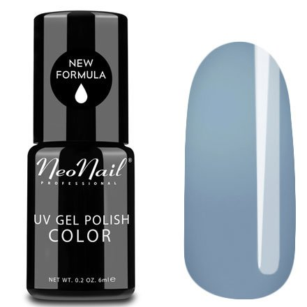 NeoNail, Гель-лак - Cloudless Sky №3194 (6 мл.)NeoNail<br>Гель-лак, небесно голубой, глянцевый, без блесток и перламутра, плотный<br>