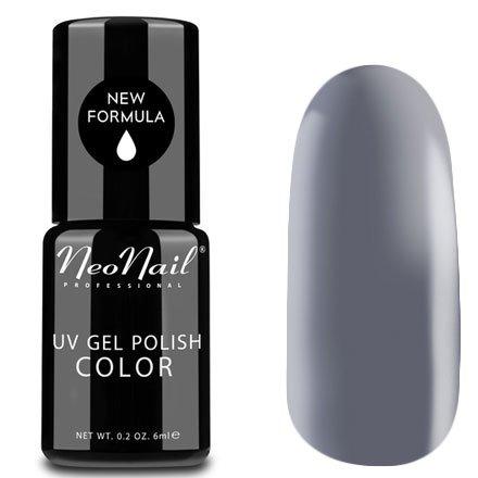 NeoNail, Гель-лак - Silver Dream №3196 (6 мл.)NeoNail<br>Гель-лак, светлый серый, глянцевый, без блесток и перламутра, плотный<br>