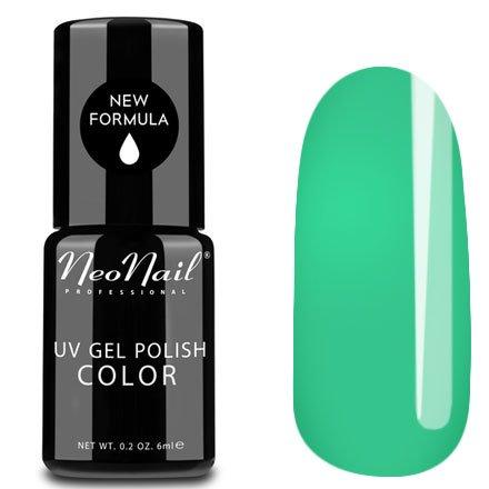 NeoNail, Гель-лак - Avocado №3197 (6 мл.)NeoNail<br>Гель-лак, зелено-голубой, глянцевый, без блесток и перламутра, плотный<br>