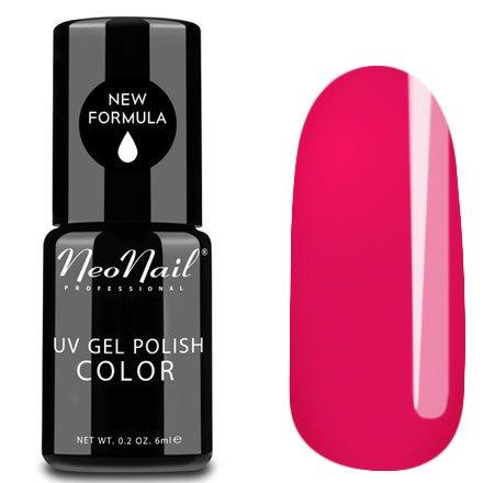 NeoNail, Гель-лак - Pink Lady №3200 (6 мл.)NeoNail<br>Гель-лак, яркий розовый, глянцевый, без блесток и перламутра, плотный<br>