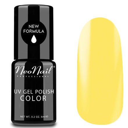 NeoNail, Гель-лак - Exotic Banana №3201 (6 мл.)NeoNail<br>Гель-лак, желтый, глянцевый, без блесток и перламутра, плотный<br>
