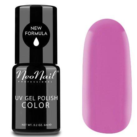 NeoNail, Гель-лак - Lila Rose №3215 (6 мл.)NeoNail<br>Гель-лак, лилово-розовый, глянцевый, без блесток и перламутра, плотный<br>