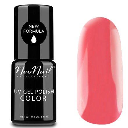 NeoNail, Гель-лак - Coral Dream №3219 (6 мл.)NeoNail<br>Гель-лак, коралловый, глянцевый, без блесток и перламутра, плотный<br>