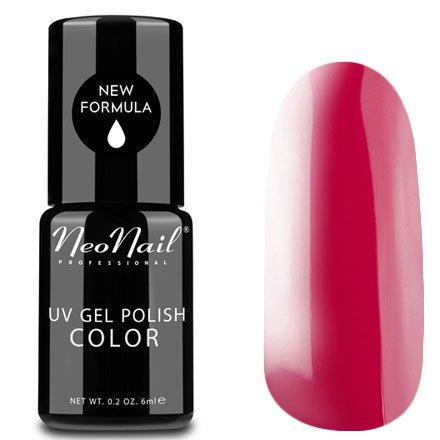 NeoNail, Гель-лак - Juicy Raspberry №3645 (6 мл.)NeoNail<br>Гель-лак, сочная малина, глянцевый, без блесток и перламутра, плотный<br>