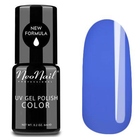 NeoNail, Гель-лак - Fancy Blue №3646 (6 мл.)NeoNail<br>Гель-лак, сиренево-голубой, глянцевый, без блесток и перламутра, плотный<br>