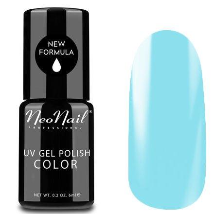 NeoNail, Гель-лак - Pastel Blue №3648 (6 мл.)NeoNail<br>Гель-лак, светлый голубой, глянцевый, без блесток и перламутра, плотный<br>