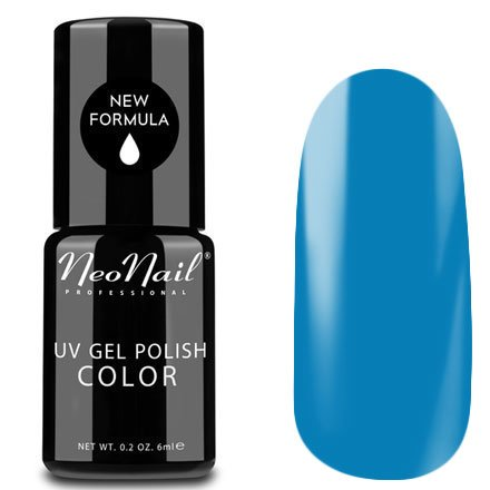 NeoNail, Гель-лак - Workblue №3652 (6 мл.)NeoNail<br>Гель-лак, сине-голубой, глянцевый, без блесток и перламутра, плотный<br>