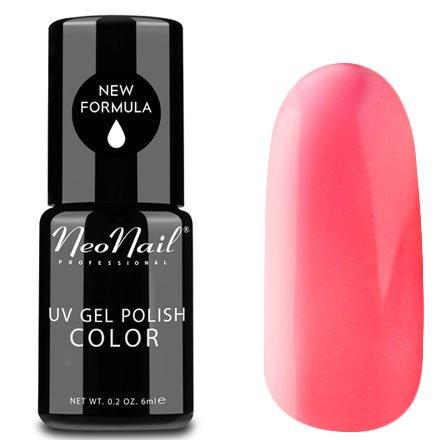 NeoNail, Гель-лак - Neon Candy №3750 (6 мл.)NeoNail<br>Гель-лак, неоновый карамельно-розовый, глянцевый, без блесток и перламутра, плотный<br>