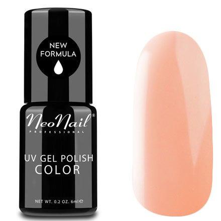 NeoNail, Гель-лак - Peach Rose №3753 (6 мл.)NeoNail<br>Гель-лак, светлый персиково-розовый, глянцевый, без блесток и перламутра, плотный<br>